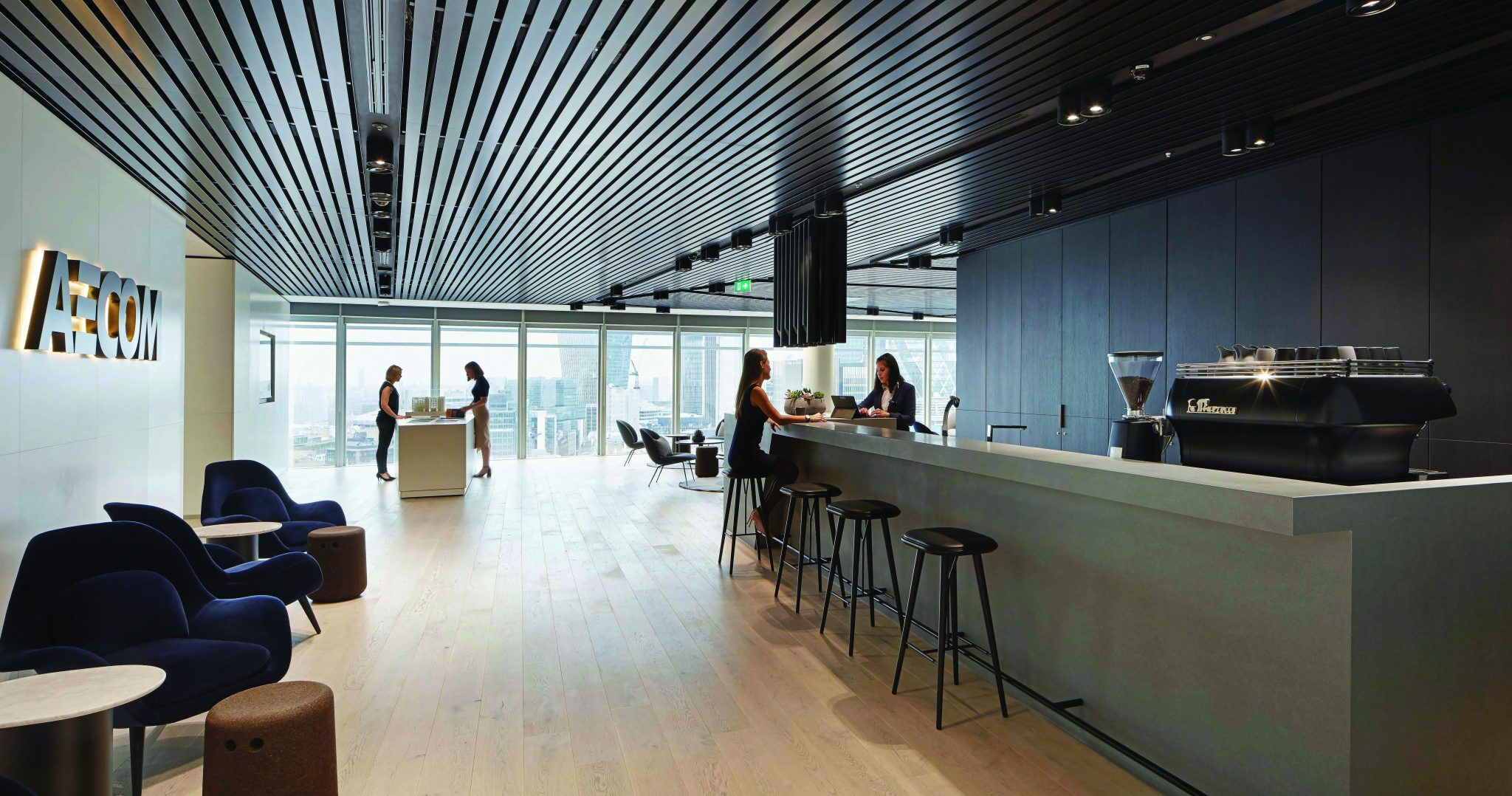 Putting The Concept To Work Aecom London Headquarters