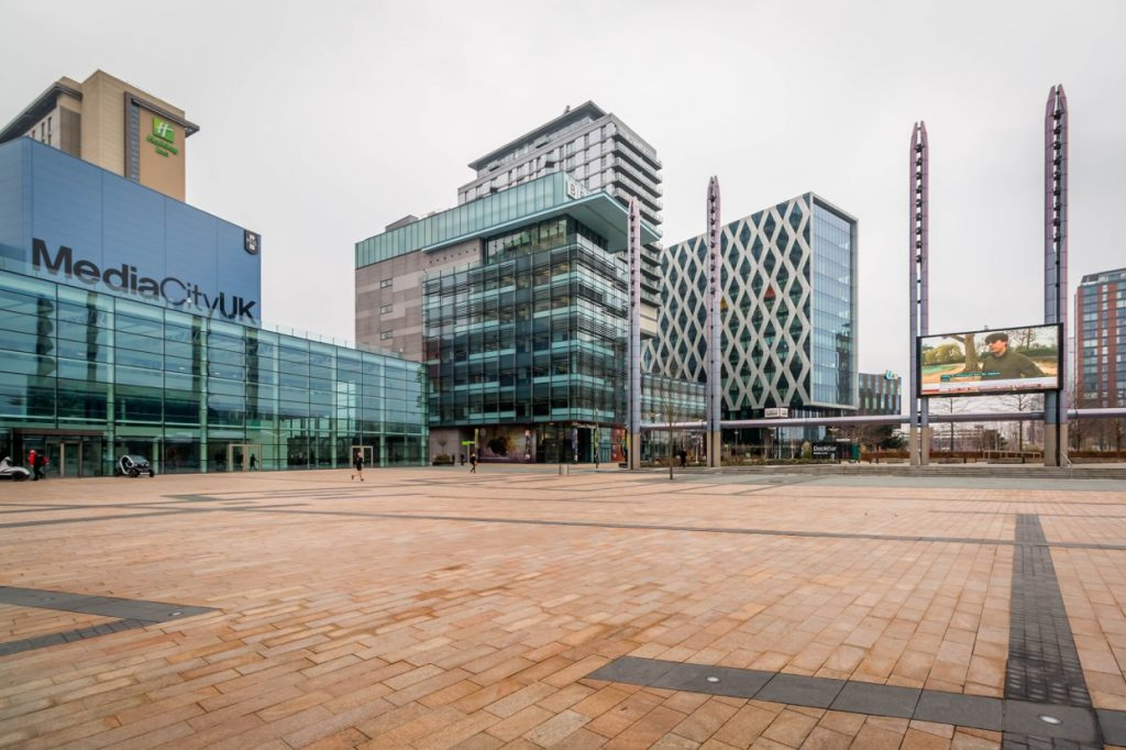 New Offices Saracen Arrives In Manchester S Media City