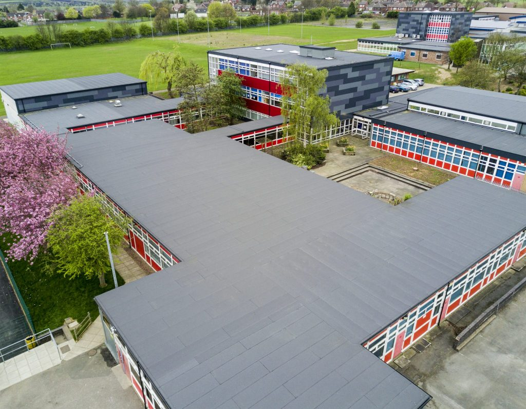 Fully Funded Flat Roof Solutions For Airedale Academy Netmagmedia Ltd