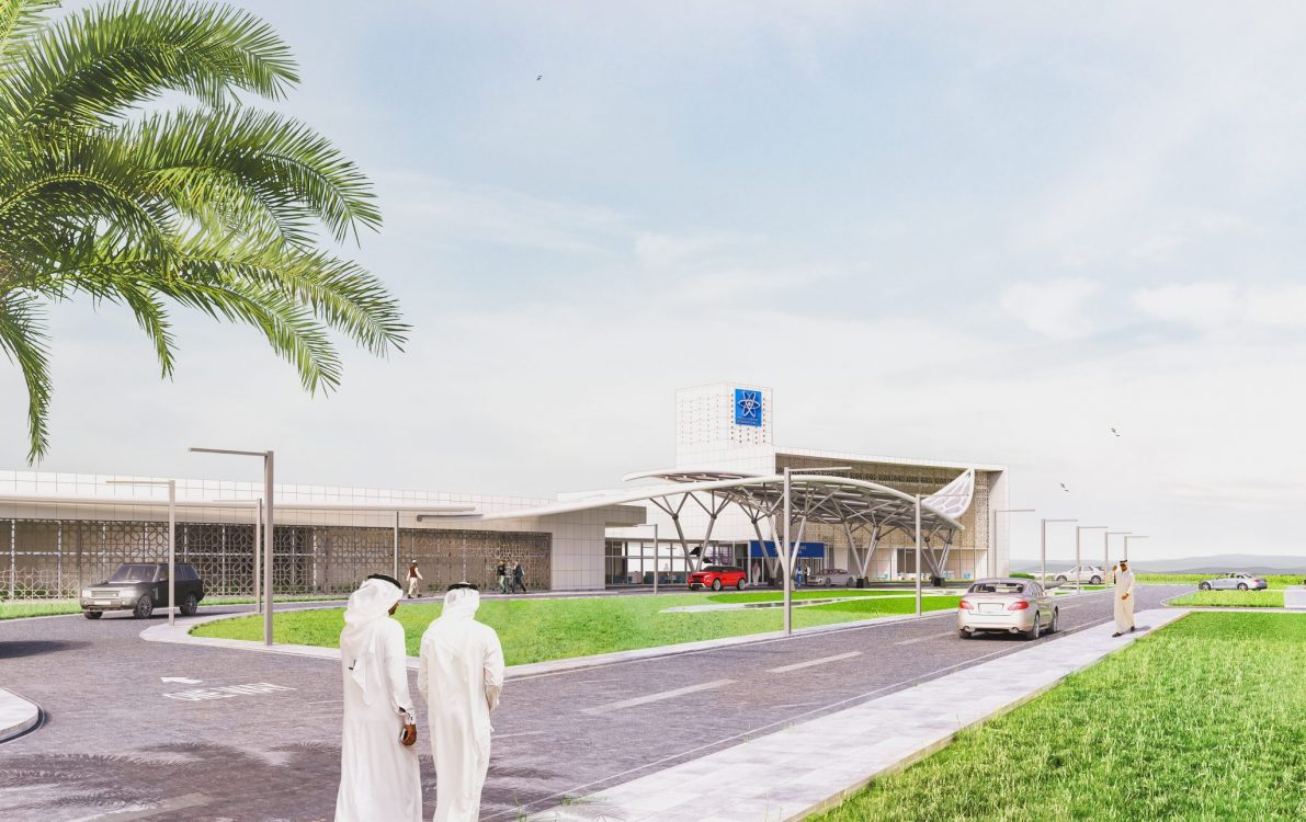 Hkr architects appointed to design the first proton beam for Hispano international decor llc abu dhabi