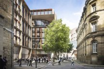 Foster + Partners' stone and bronze clad Bloomberg HQ nears completion