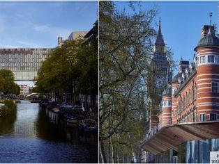 New Scotland Yard and University of Amsterdam (© Timothy Soar)