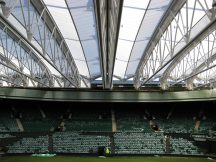 Nothing typifies being British like adapting to unpredictable summer weather, but thanks in part to the expertise of Barnshaws Section Benders Ltd, those who travelled to Wimbledon Centre Court this month didn't have too much to worry about. The stadium features a fully retractable 1,000 tonne roof, which allows tennis fans to enjoy the spectacle of world class sport in any summer weather condition. Barnshaws utilised its experience to supply high quality curved steel sections to the project, which ensured that play can go on during the prestigious Wimbledon event.