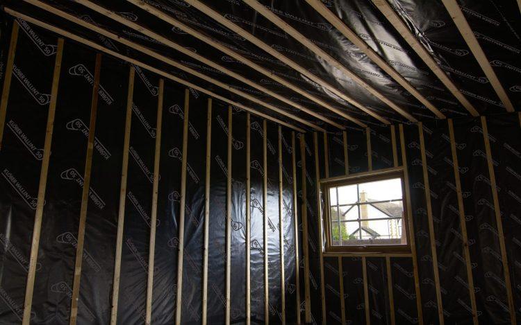 klober reflective air barrier for exceptional vapour. Black Bedroom Furniture Sets. Home Design Ideas