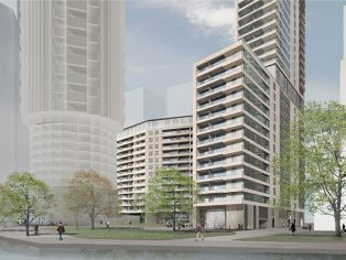 McMullen Facades, part of the Lakesmere Group, has been awarded a multimillion pound contract by Canary Wharf Contractors Limited to deliver a bespoke unitised façade system to a new landmark 42-storey residential development, 10 Park Drive, designed by Stanton Williams Architects and will be delivered by John Robertson Architects