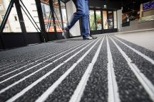 Quantum Entrance Matting offers an inclusive CPD presentation that covers the specification of safe and effective entrance matting. 94 per cent of dirt entering a building on foot or wheeled traffic can be removed with the right type of entrance matting.