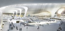 Beijing's new international airport passenger terminal by Zaha Hadid Architects