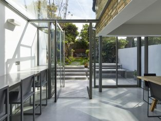 Space Group completes listed refurbishment with concrete and glass