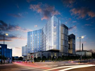 Polypipe Terrain, the UK's leading plastic piping systems manufacturer, has been specified throughout a new £335 million pound hospital development in Liverpool.