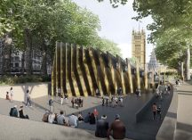 Front View © Adjaye Associates and Ron Arad Architects