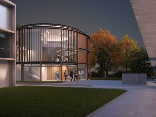 Purcell receives planning for St Catherine's College on Arne Jacobsen site