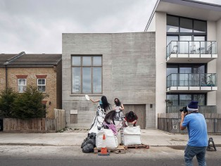 6a architect's innovative Photography Studio for Juergen Teller, for which Gowercroft Joinery provided bespoke windows and doors, has been shortlisted for the prestigious 2017 Stirling Prize