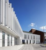 The Manser Practice specifies an elegant, high-performance Corian® facade for the new NGS Macmillan Unit at the Chesterfield Royal Hospital NHS Foundation Trust