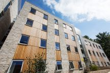 New 237 bed purpose-built student accommodation development, The Old Printworks, Edinburgh, completed on behalf of Unite, on time and on budget and fully let for the 2017/18 academic year