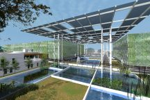 Floating Ponds by Surbana Jurong Consultants winner of the WAFX Water prize