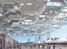 Future Project of the year and Future Projects Masterplanning: Sydney Fish Markets by Allen Jack+Cottier Architects