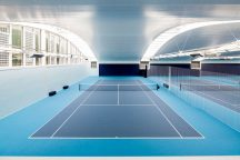 The Hurlingham Club Racquet Centre was singled out for special commendation by the awards panel.