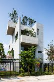 Completed Buildings House: Vo Trong Nghia Architects, Binh House