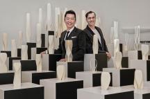 Vincent Liew (Executive Board Member, Wilson Associates) & Patrik Schumacher (Principal, Zaha Hadid Architects) © Frederic Ducout