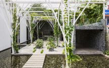 Completed Buildings Hotel & Leisure: Cong Sinh Architects, Vegetable Trellis