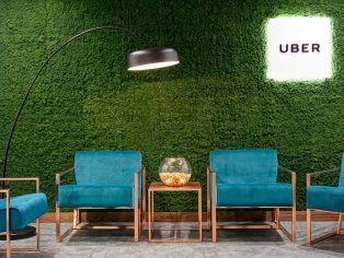 Innerspace Evergreen Flexipanel Moss Green - Uber, London