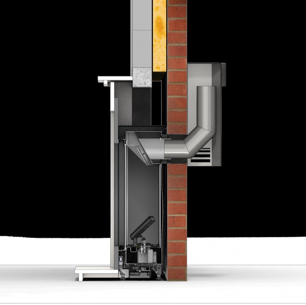 New Dru Global 55xt Bf Cavity Wall Gas Fire An Ingenious