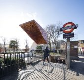 Bethnal Green Memorial, Arboreal Architecture © Marcela Spadaro
