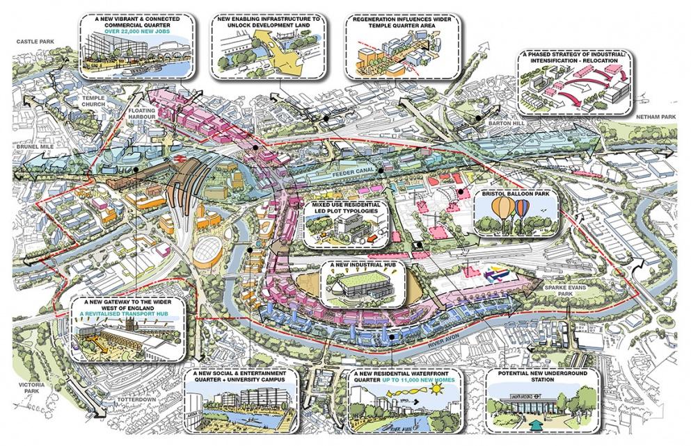 Ww P To Deliver Masterplan Vision For Bristol Temple Quarter