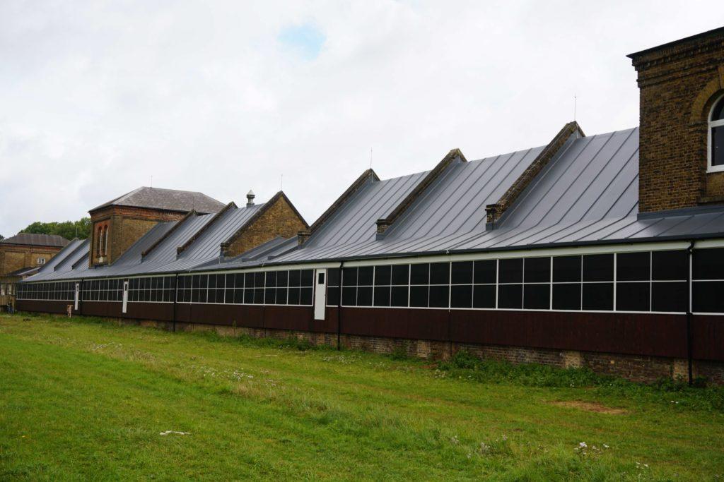 Sika Sarnafil Explosive Success For Royal Gunpowder Mills Heritage Roof Refurbishment Netmagmedia Ltd
